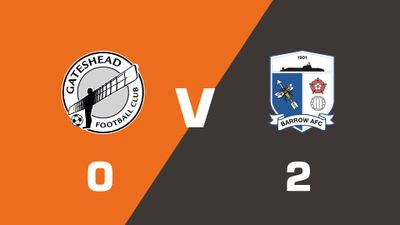 Highlights: Gateshead vs Barrow