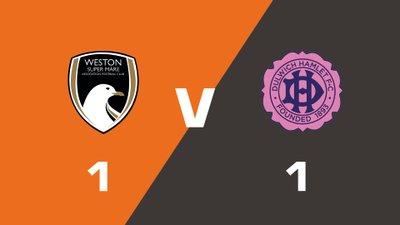 Highlights: Weston-super-Mare AFC vs Dulwich Hamlet