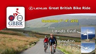 LEXUS GREAT BRITISH BIKE RIDE – Enter a team!
