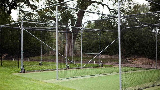 The Return of Cricket Net Practice