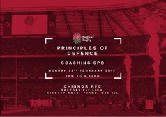 Principles of Defence coaching course at Chinnor