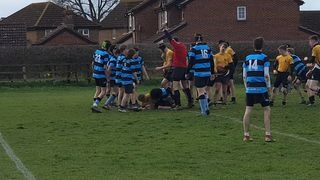 U16s against Wintey - March 20-19