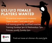 Girls Rugby in Thame