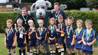 Ellingham U8`s New Milton Cup Runners Up
