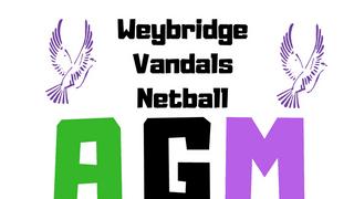 Weybridge Vandals Netball AGM 2018