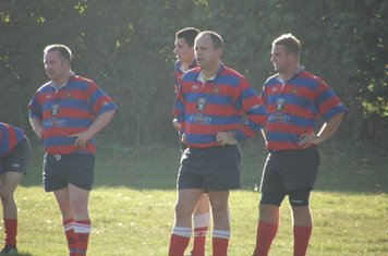 The new hi-tech skin tight shirts flatter the six pack of the forwards
