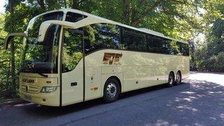 Bus for Hawick Harlequins