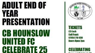 CB Hounslow United FC 25 Year Anniversary