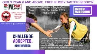 Girls Rugby - Inner Warrior Camp