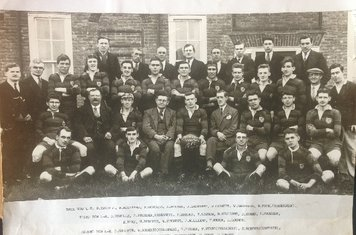 1930 The First Snowdown RFC Photo