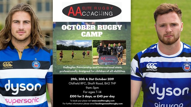 October Rugby Camps Update