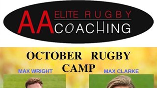 AA Elite Rugby Coaching - October Rugby Camps