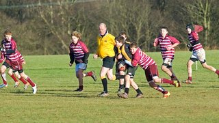 Wirral U12's Vs Caldy U12's in the Cheshire Cup