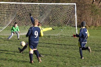 Joel shoots for goal