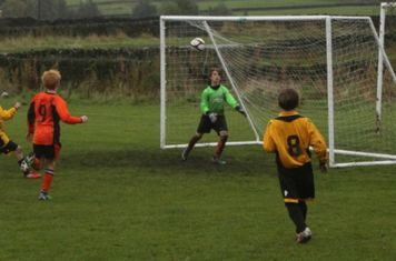 And again with the 'keeper beaten . . . just wide