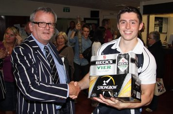 First MOTM of the 2011-12 season - Worthing - Kieran Leeper - Presented by Keith White of No Magnolia.