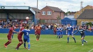 Farsley v Bradford City pre season friendly 11th July 15