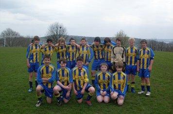End of season team photo 2009 10