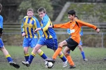 Another action shot v. Bradford Tigers 2009 10