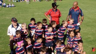 Under 6's ROARING with pride whilst singing the club song