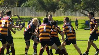 Seniors at West Scarborough 3rd May 2014