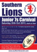 Southern Lions Junior 7s 2019