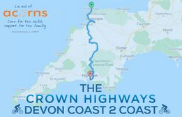 Crown Highways take on the Devon Coast to Coast Bike Ride