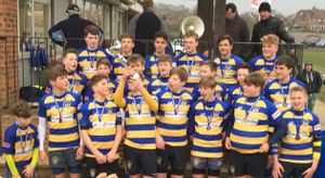 U14s -  Kent Cup Champions