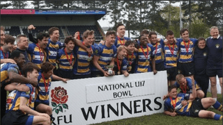 OE U17s WIN RFU NATIONAL BOWL FINAL - 2013