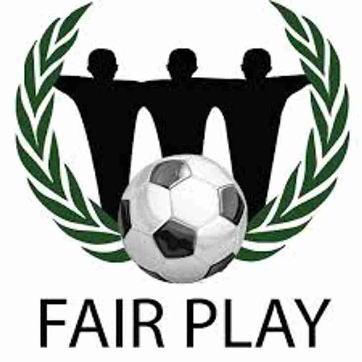 Fair Play awards announced