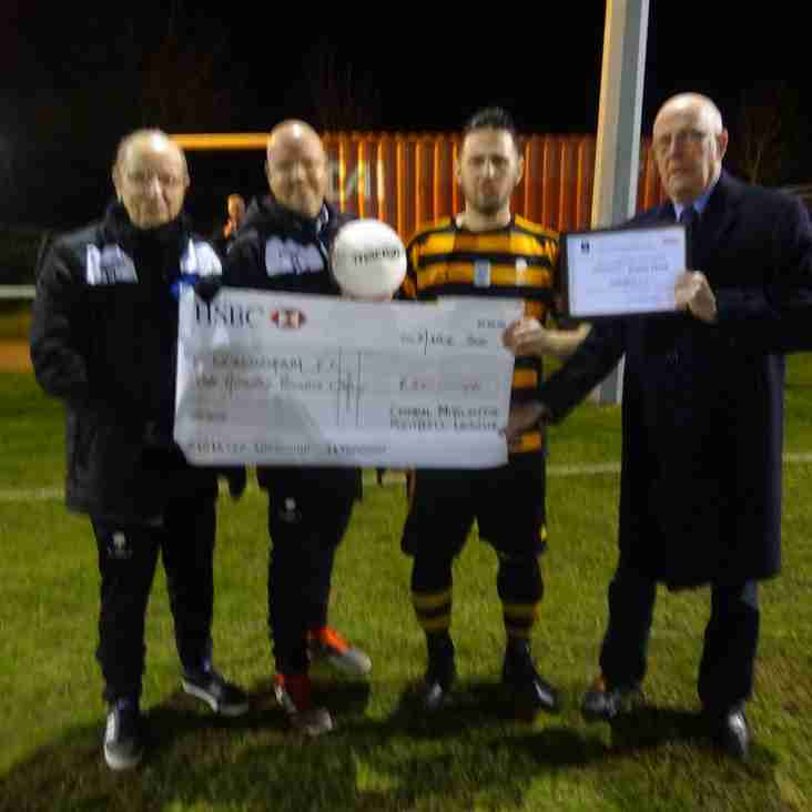 Respect award presented to Collingham