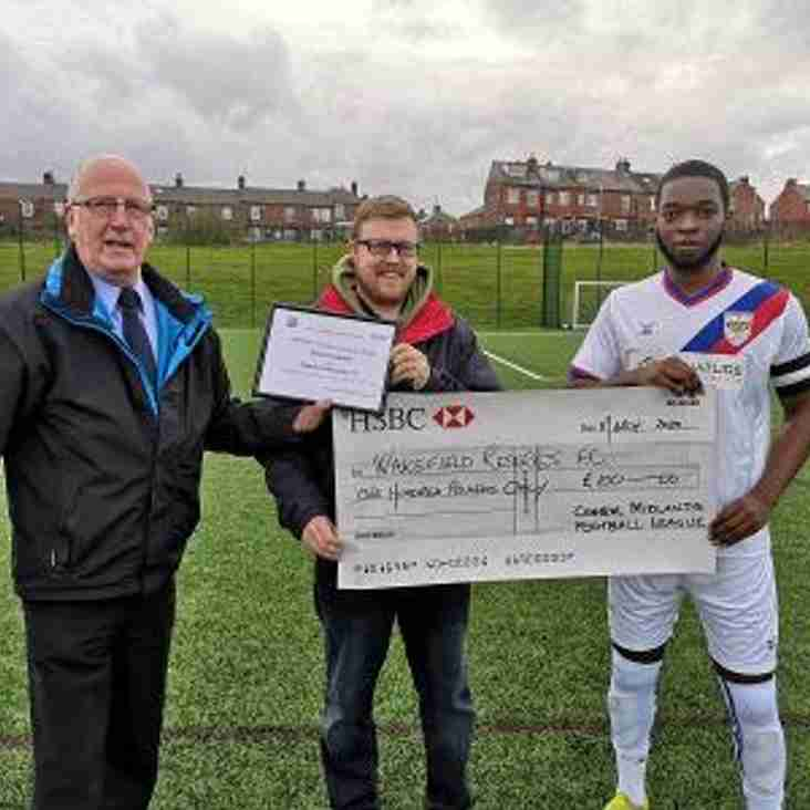 Respect award presented to Wakefield Reserves