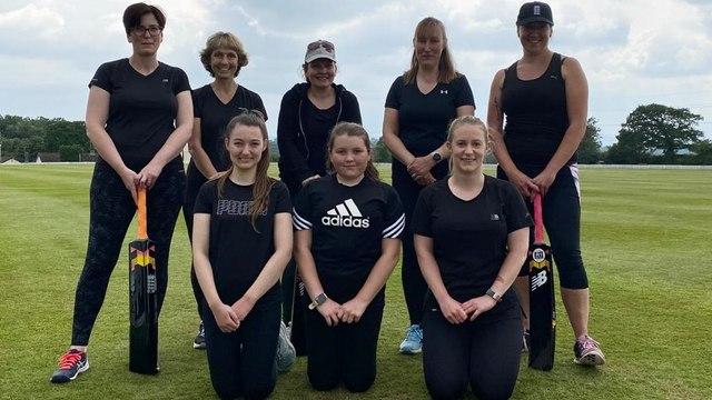 Women & Girls team in action
