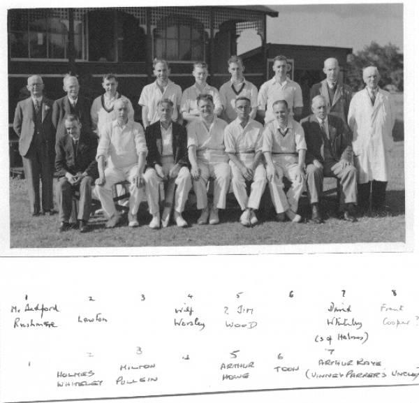 Pool Cricket Club 1950