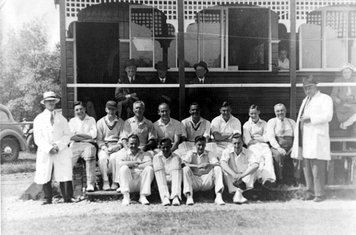 Pool Cricket Club at the beginning of the 2nd World War 1939