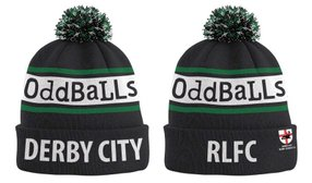 Oddballs Hats and Towels available for purchase.