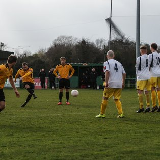 East Thurrock took the victory today at Rookery Hill