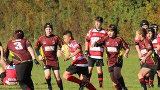 Hungerford U13s vs Didcot U13s - 6th November 2016