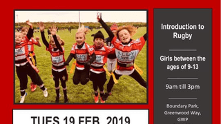 Girls Rugby Camp - 19/02/2019