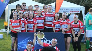 Didcot Touch (Japan) win the Bournemouth Touch Social World Cup Plate Final!