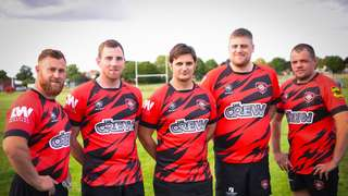 Brand-new look for Manor Park RFC Second XV thanks to four local firms