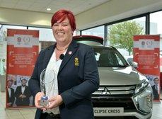 Claire Scoops Top Prize at Twickenham