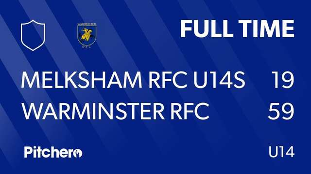 Warminster Under 14s Rugby Team Start New Year with Convincing Win away to Melksham
