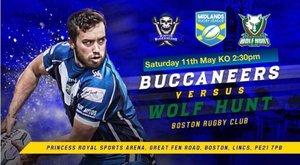 Buccaneers v Wolfhunt