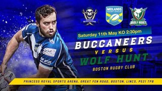 Buccaneers v Wolfhunt