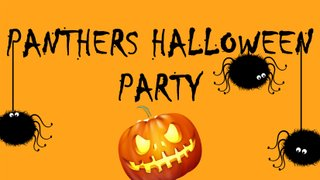 Panthers Halloween Party 03/11/18