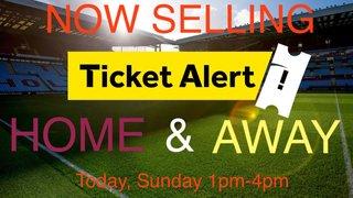 Ticket news - FA Cup v Barnet