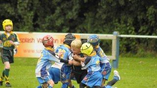 Woolston U7s v Orrell St James U7s Golds - 16.09.12