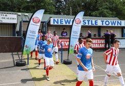 Newcastle kick off their pre-season games