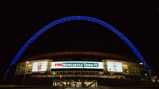 Castle start on the road to Wembley